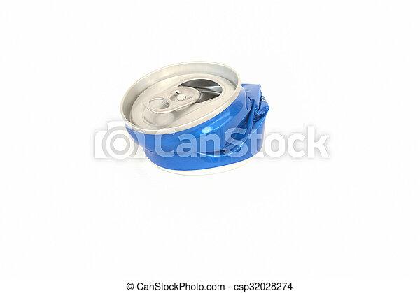 Crushed Aluminum Can - csp32028274