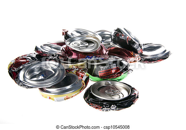 Crushed Pop Cans - csp10545008