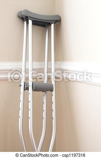 Crutches - csp1197316