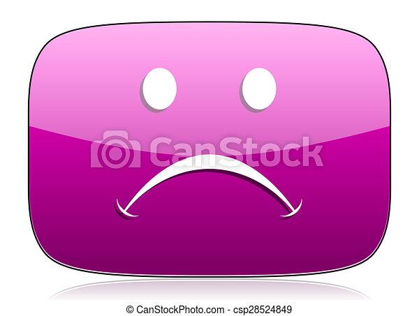 cry violet icon - csp28524849