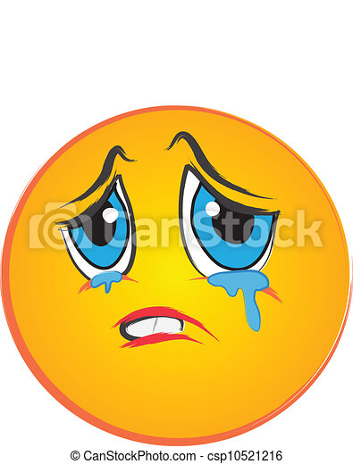 Crying face images