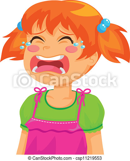 crying girl little girl crying rh canstockphoto com