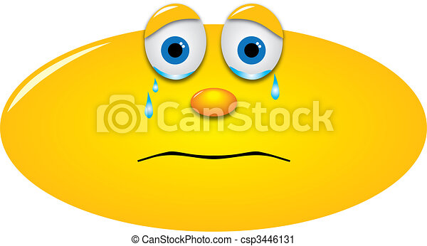 Crying Smiley - csp3446131