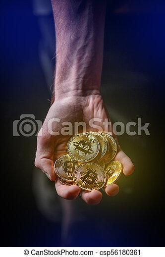 cryptocurrency, concept., investissement - csp56180361