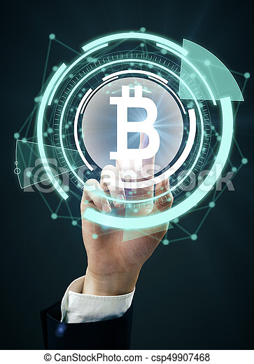 Cryptocurrency concept - csp49907468