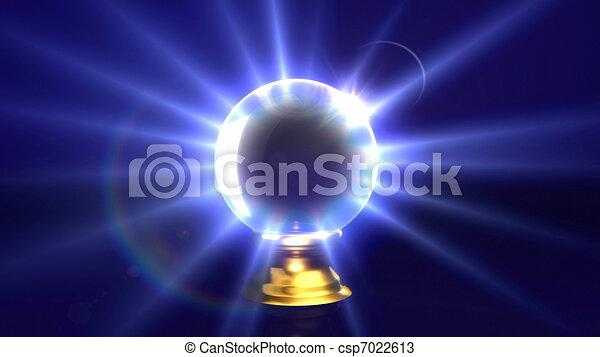 crystal ball lens flare - csp7022613