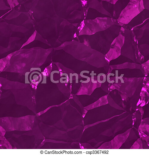 Crystalline mineral facets texture - csp3367492