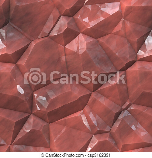 Crystalline mineral facets texture - csp3162331