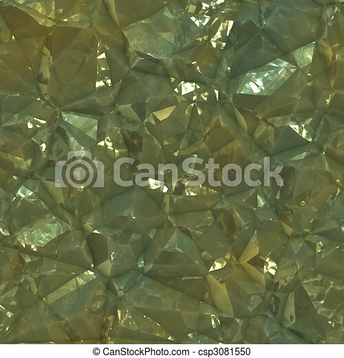 Crystalline mineral facets texture - csp3081550