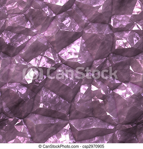 Crystalline mineral facets texture - csp2970905