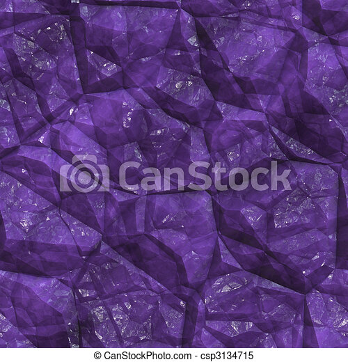 Crystalline mineral facets texture - csp3134715
