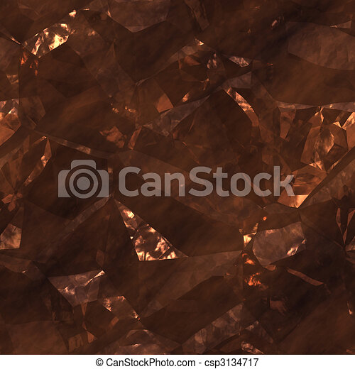 Crystalline mineral facets texture - csp3134717