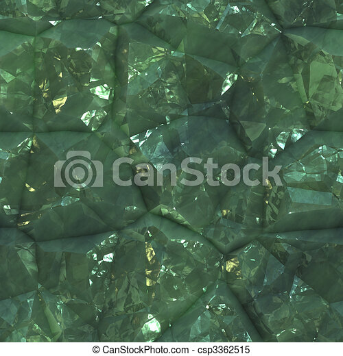 Crystalline mineral facets texture - csp3362515