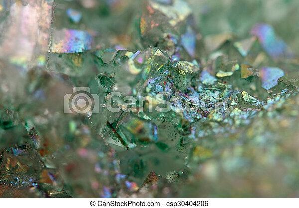 crystals Agate SiO2 silicon dioxide. Macro - csp30404206