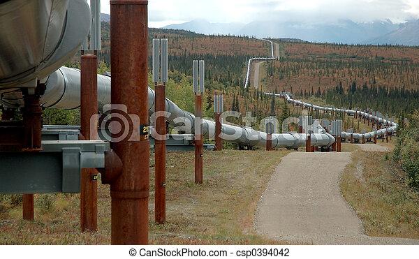 csővezeték, olaj - csp0394042
