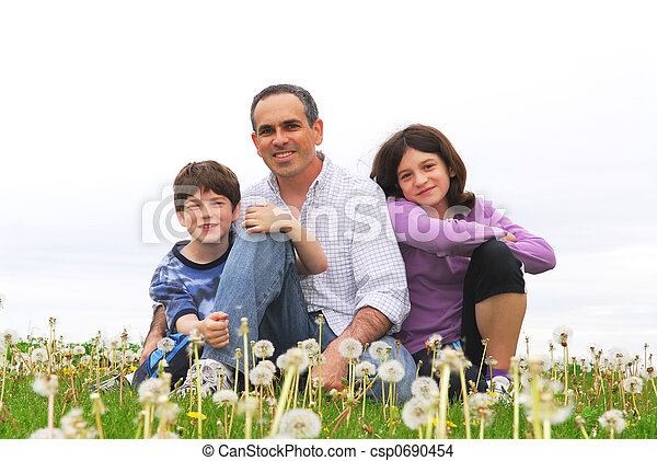 család, boldog - csp0690454