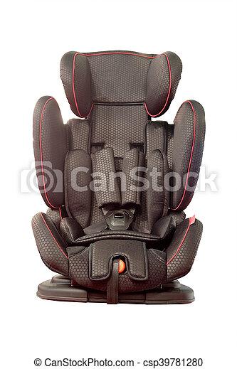 csecsemő autó leültet - csp39781280