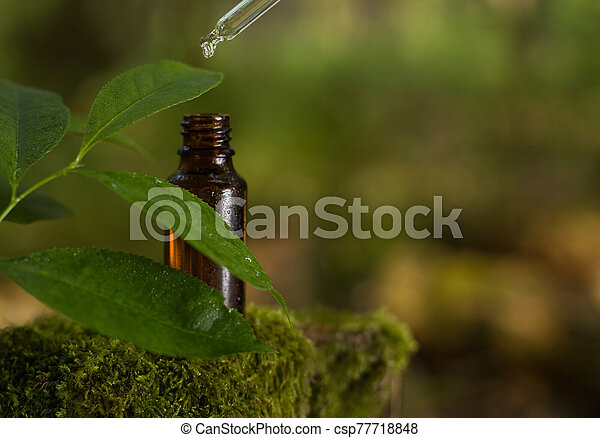 csepp, esés, pipetta, palack, víz - csp77718848