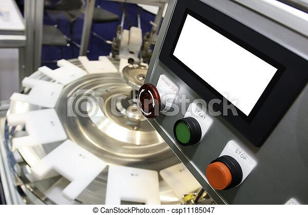 csomagolás, iparág, kézbesítő - csp11185047