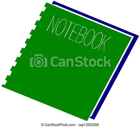 El cuaderno - csp13352356