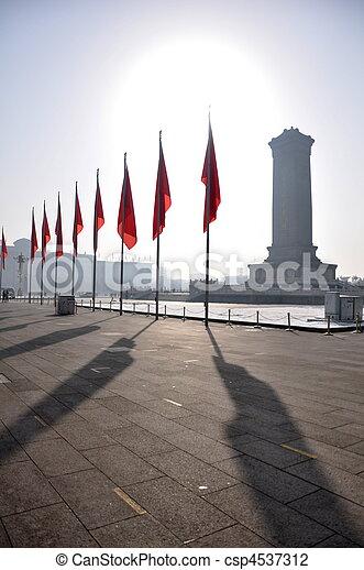 Plaza Tiananmen - csp4537312