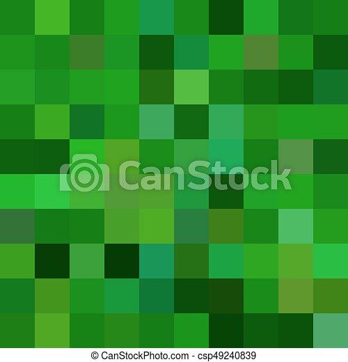 Cuadrado Plano De Fondo Resumen Geometrico Vector Diseno - Tonos-verde