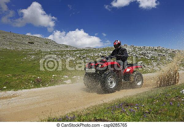 Relájate y monta ruedas cuadradas - csp9285765