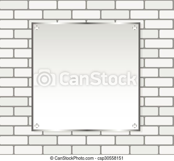 Cuadro de pared, vector, blanco, plata. Marco, seamless, textura ...