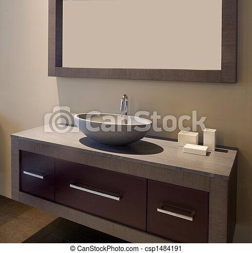 Baño de diseñadores - csp1484191