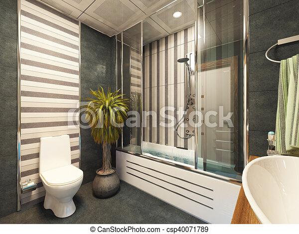 Cuarto de baño, diseño, decoración. Sedat, cuarto de baño ...