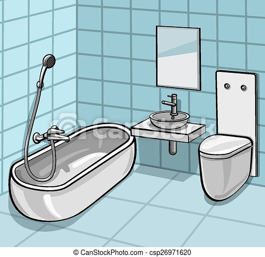Baño - csp26971620