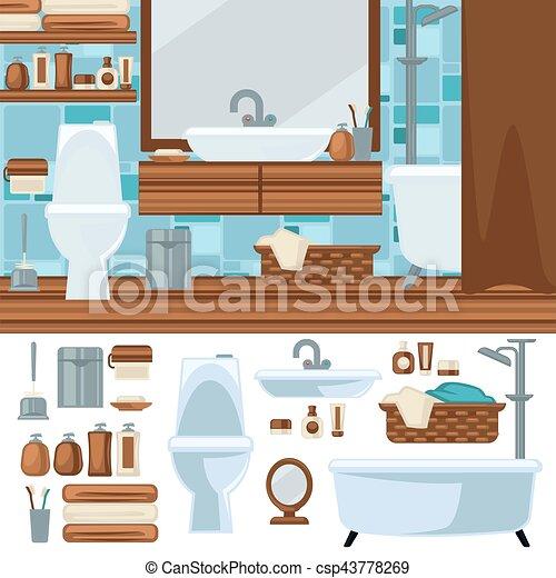 Cuarto de ba o set accesorios interior muebles - Accesorios cuarto bano ...