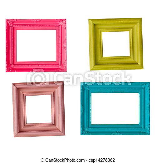 Cuatro, imagen, contemporáneo, marcos. Imagen, vibrante,... imagen ...