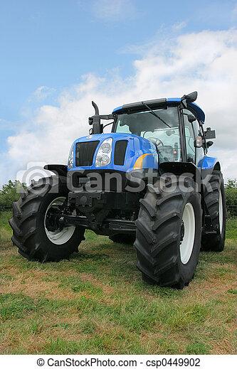 Nuevo tractor de cuatro ruedas - csp0449902