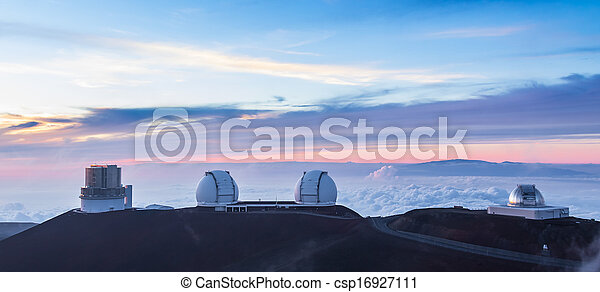 Cuatro observatorios en resumen, Hawaii - csp16927111