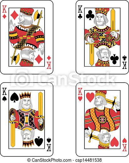 Cuatro reyes - csp14481538
