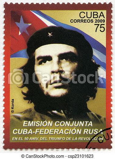 CUBA - 2009: shows commander Ernesto Guevara de la Serna (Che Gu - csp23101623