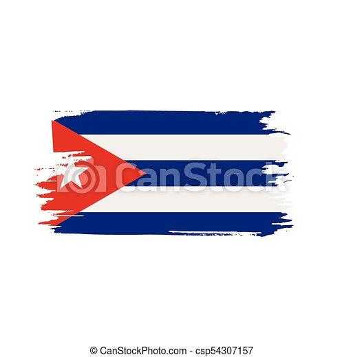 Cuba Flag, Vector Illustration