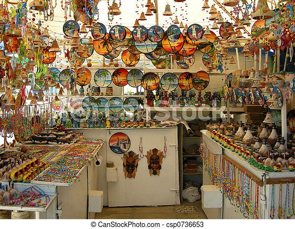 Cuban arts and crafts - csp0736653