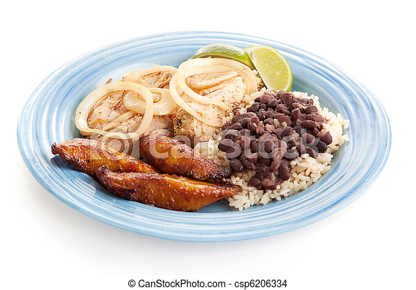 Cuban Food  - csp6206334