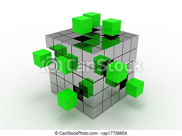 cube concept - csp17736654