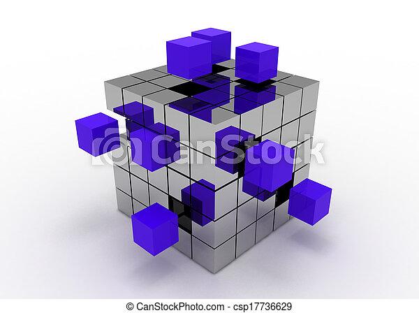 cube concept - csp17736629