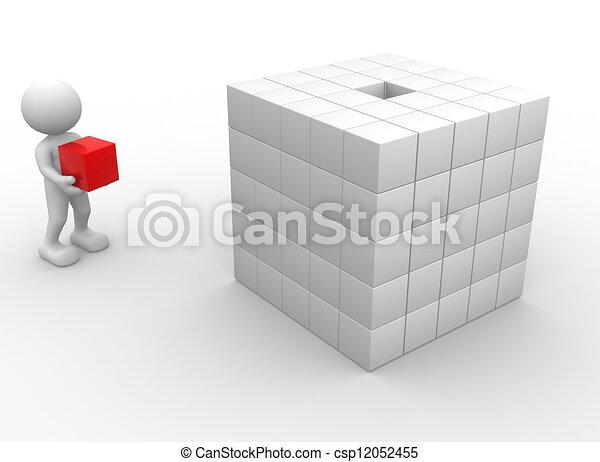 Cubes - csp12052455