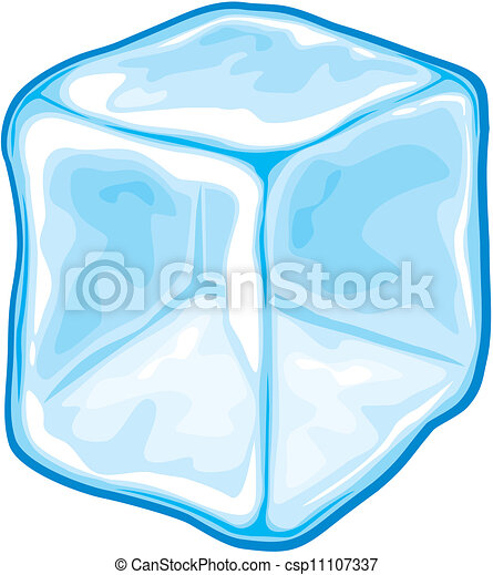 Cubo de hielo - csp11107337