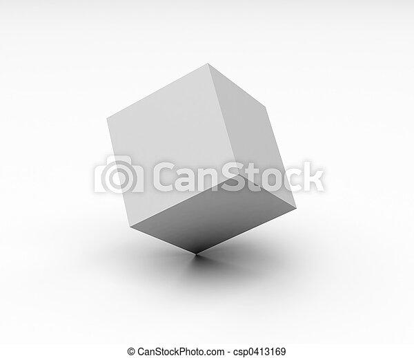 cubo, vuoto - csp0413169