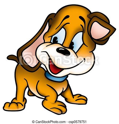 cucciolo, cane - csp0579751