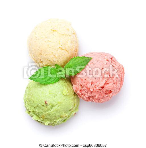 Bolas de helado - csp60306057