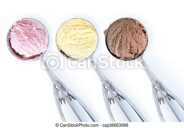 Bolas de helado - csp36663066