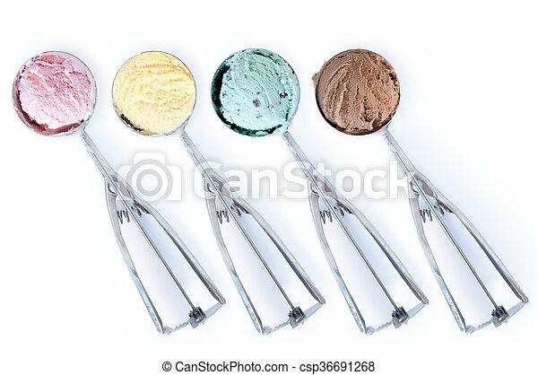 Bolas de helado - csp36691268