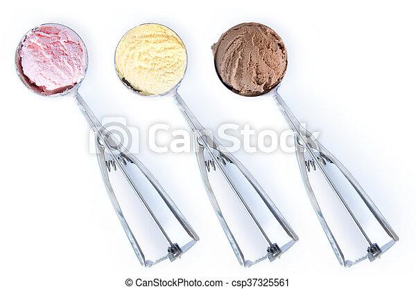 Bolas de helado - csp37325561